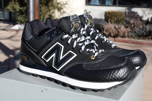new product bf1ff e4d56 mens new balance 574 snake black