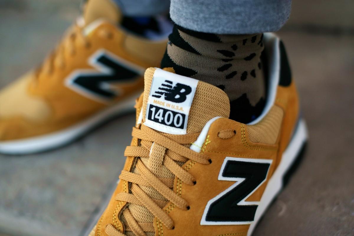 new balance 1400 golden yellow