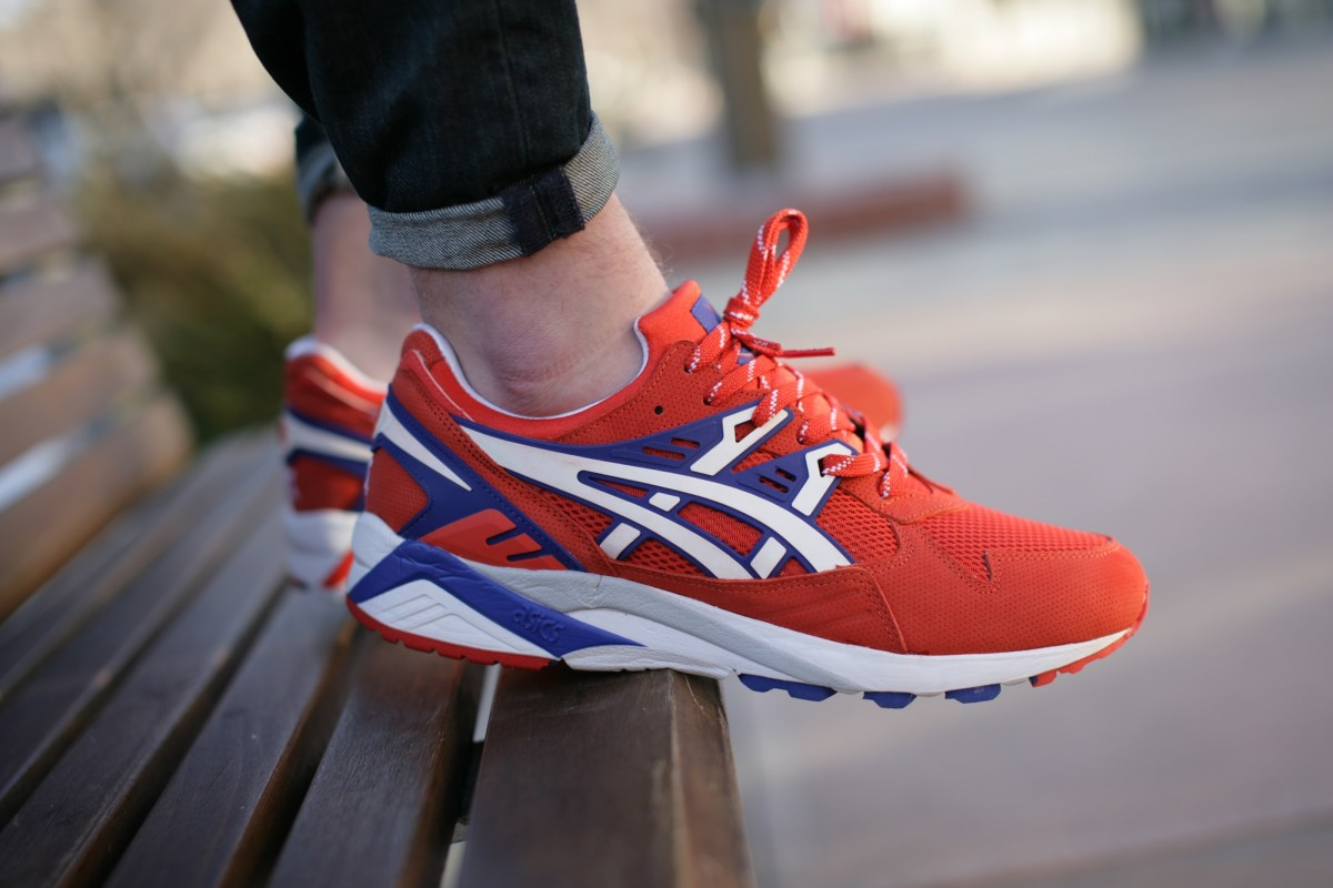 ASICS Gel Kayano Trainer Orange.com/White