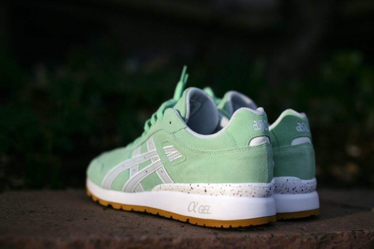 ASICS Tiger 'Full Bloom Pack' GT-II in Green Ash/Soft Grey