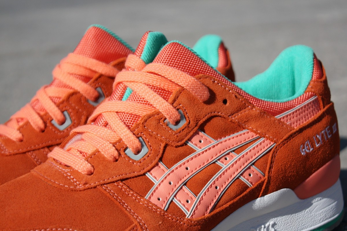 ASICS Tiger Gel Lyte III 'Fresh Salmon'