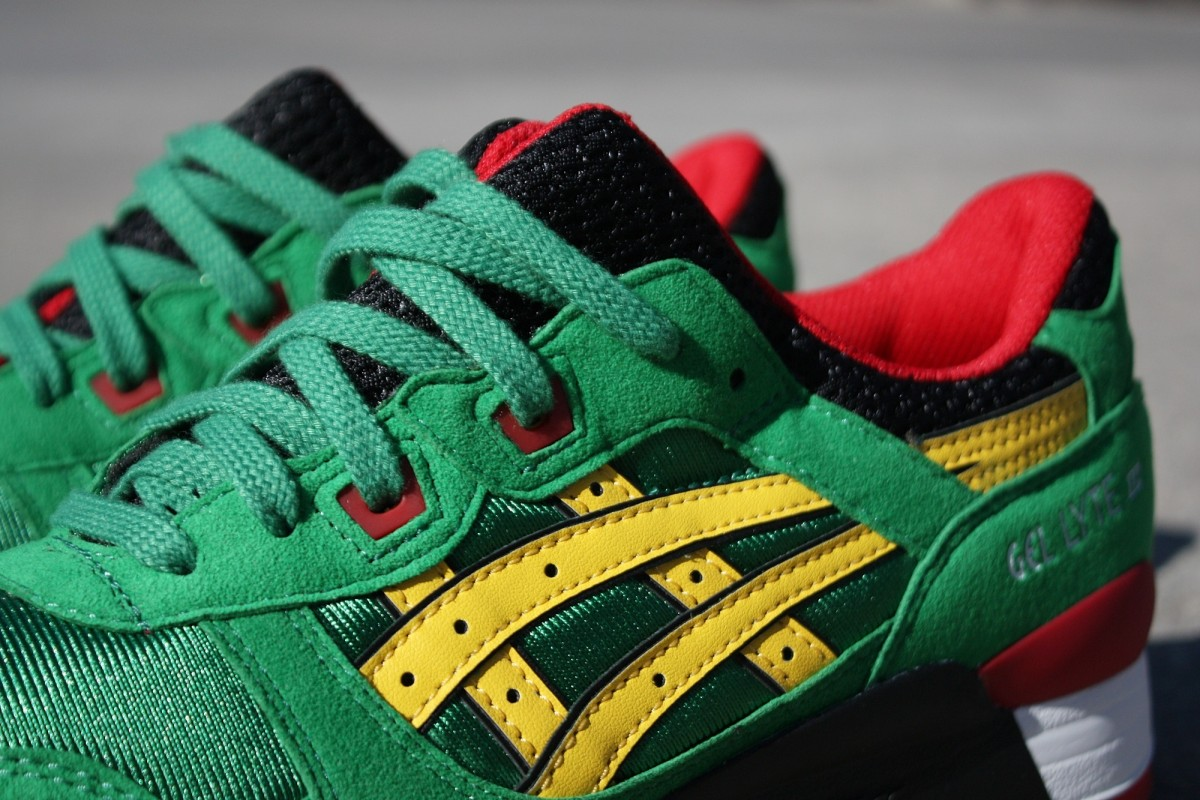 "ASICS Tiger Gel Lyte III 'Carnival"" Green/Yellow"
