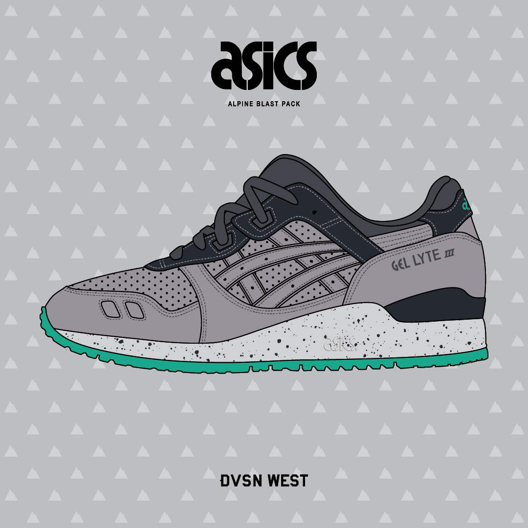 ASICS 'Alpine Pack' Gel Lyte III