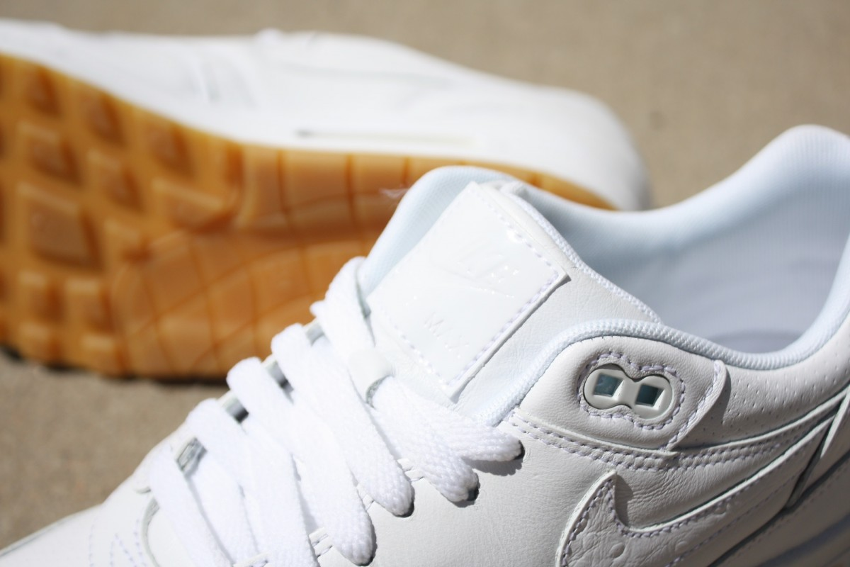 Nike Air Max 1 Leather PA White/Gum