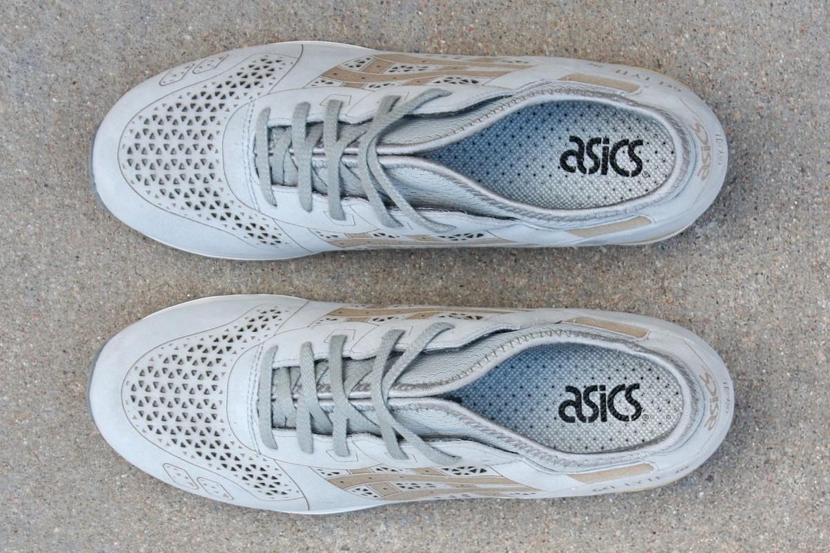 ASICS Gel-Lyte III 'Laser Cut' in Grey