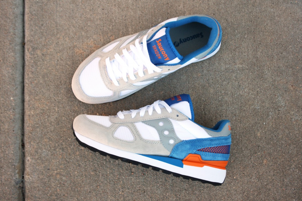 Saucony Shadow Original Grey/Blue/Orange