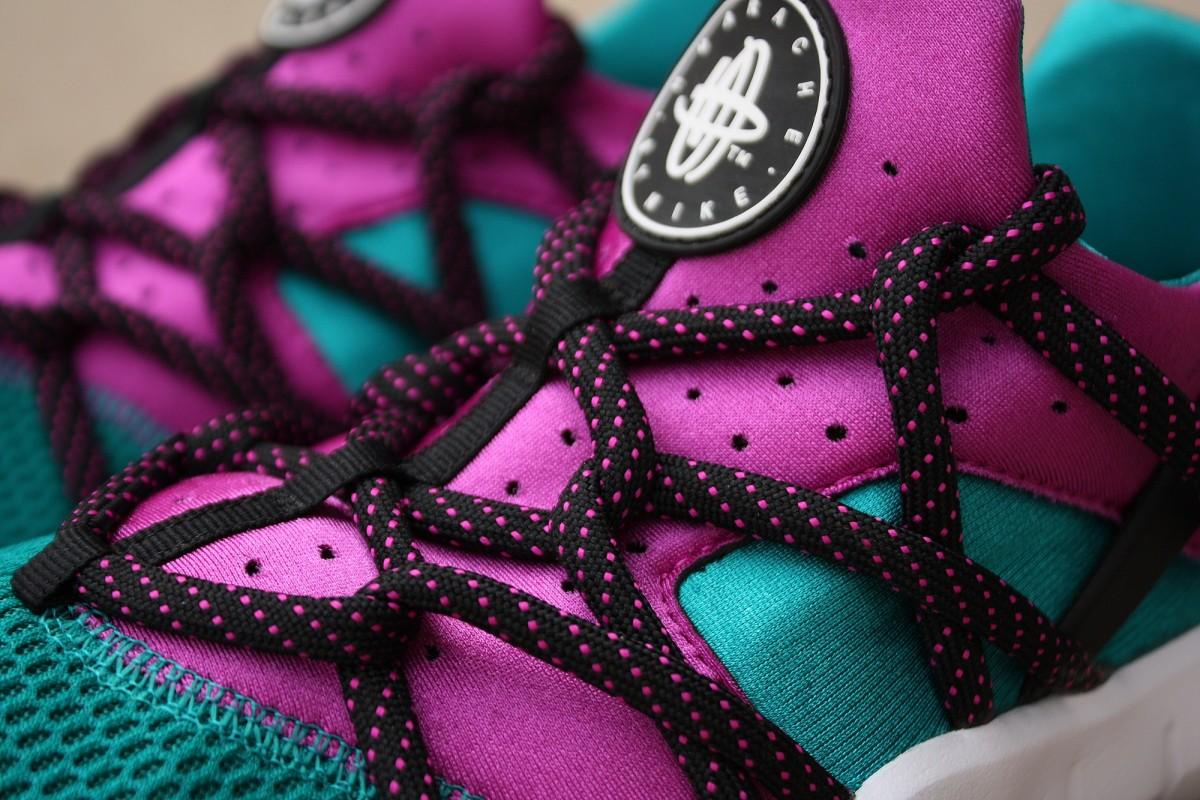 Nike Huarache NM Radiant Emerald/Fuchsia Flash