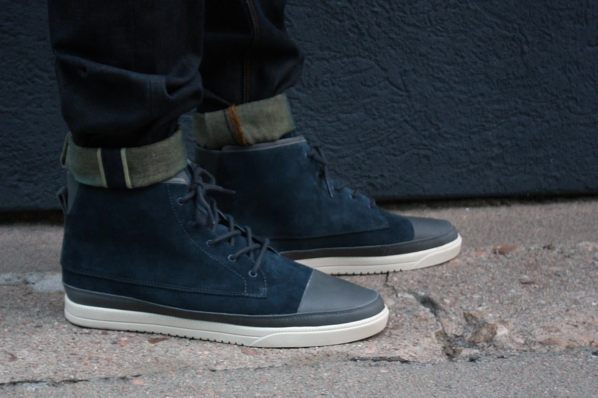 Clae Chambers in Pavement Suede