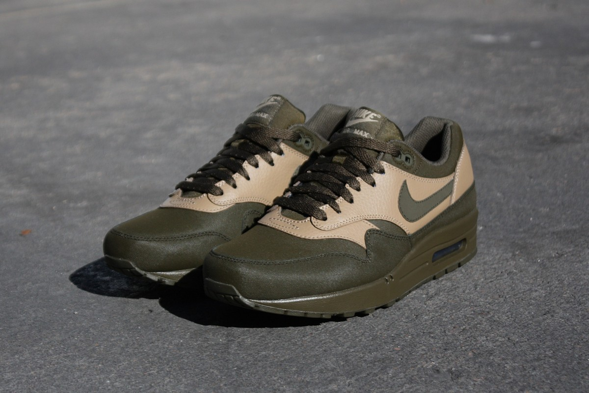 Nike Air Max 1 Leather Premium Dark Loden