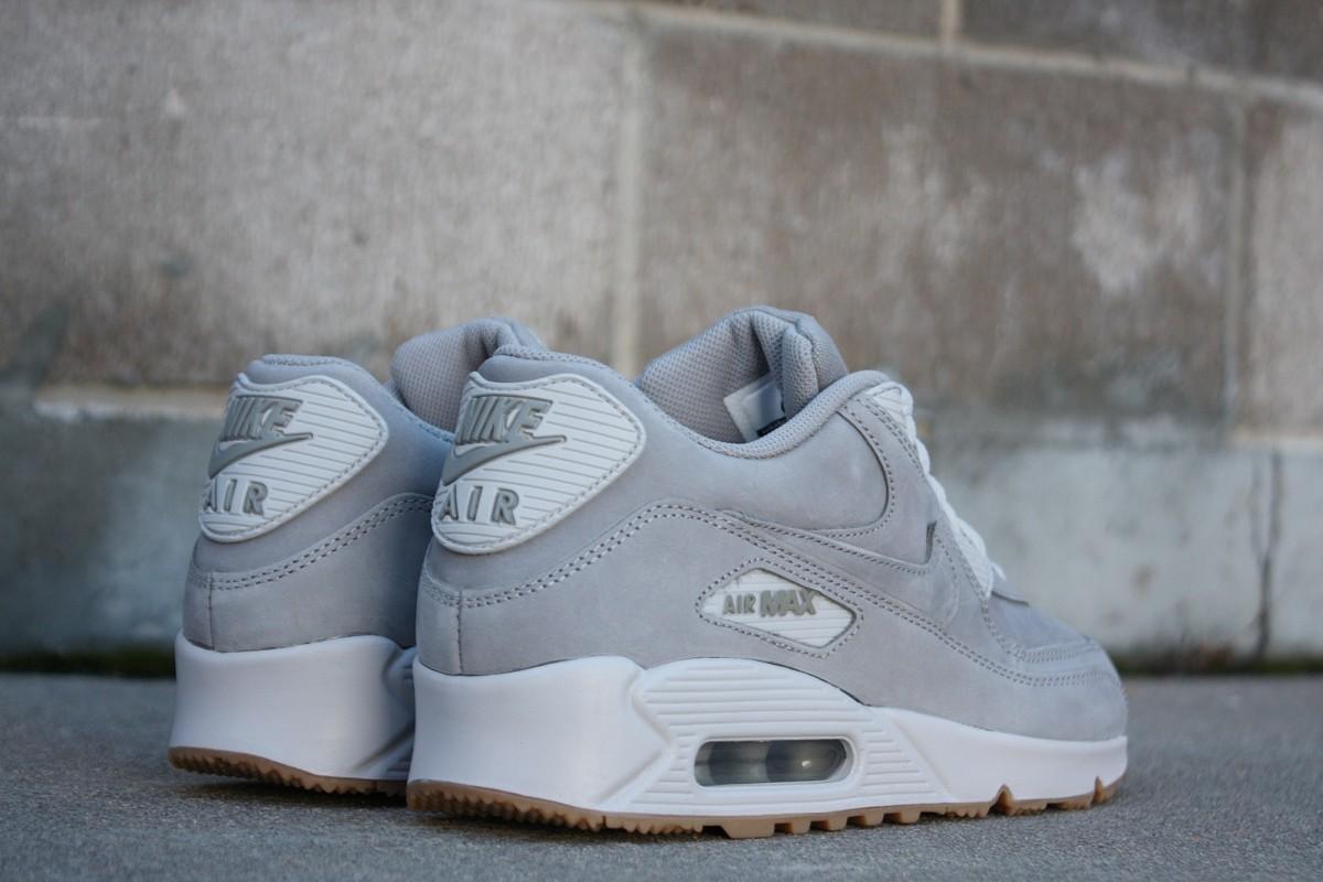 nike air max 90 medium gray white