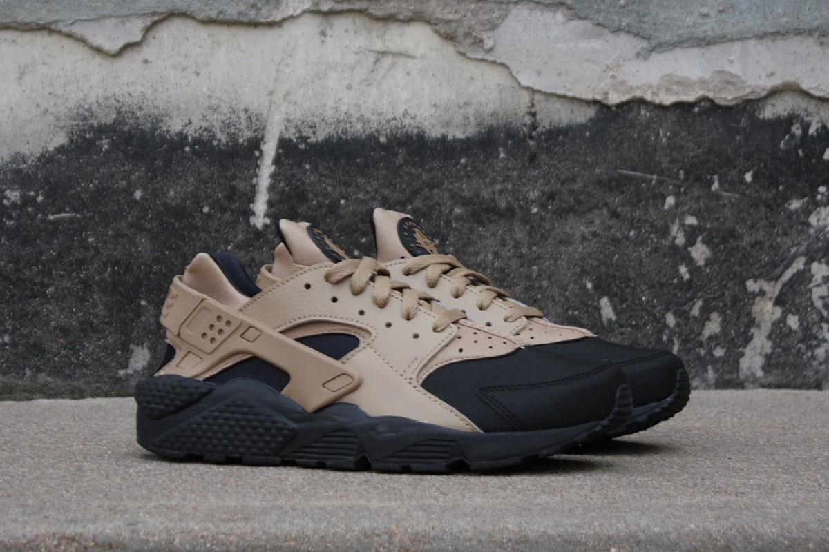 Nike Air Huarache Run Prm in Desert Camo