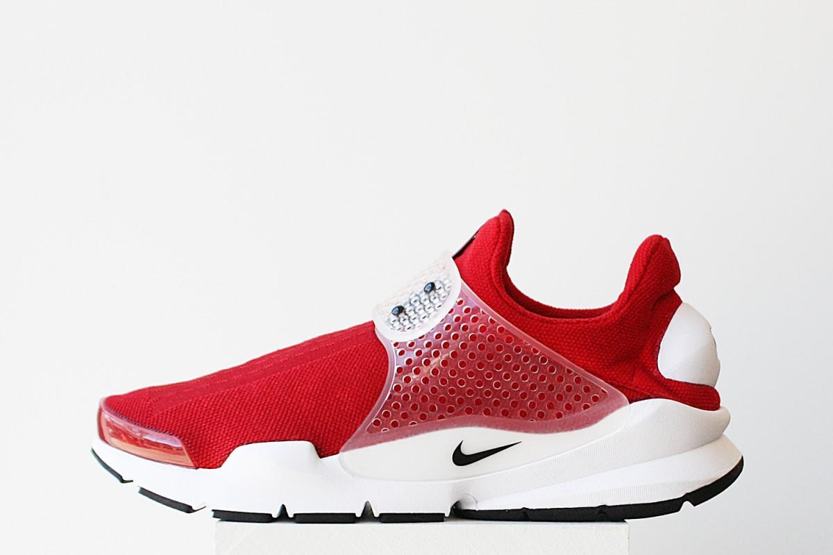 NikeSockDartJcrdGymRed002